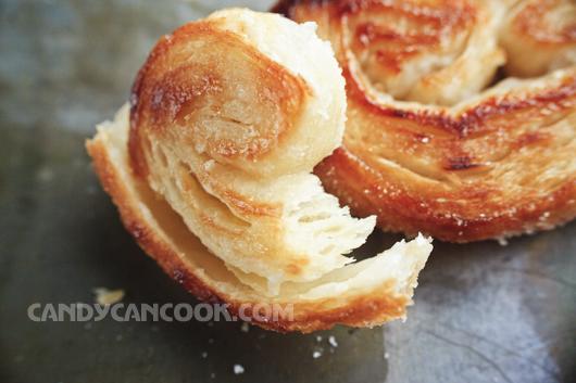 Hãy ăn và cảm nhận từng lớp bánh Palmier
