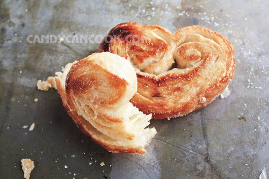 Đơn giản nhưng hấp dẫn là bánh Palmier