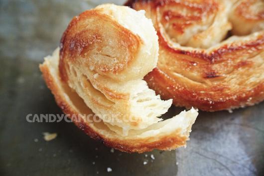 Bánh làm từ bột ngàn lớp (puff pastry) thật hấp dẫn
