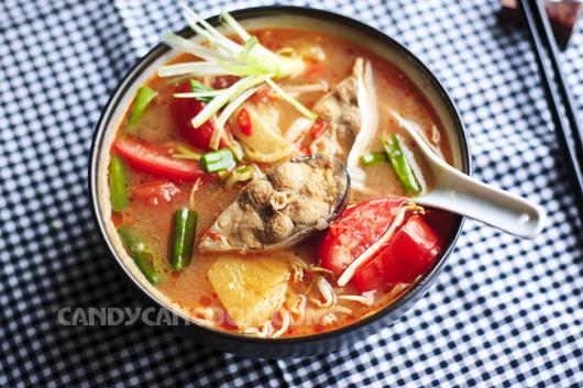 Thơm ngon, bổ dưỡng là canh chua cá kiểu miền Nam