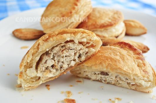 Hấp dẫn từ ngoài vào trong - Bánh Patê sô (Paté chaud)