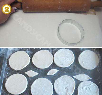 Cán bột và cắt bột ngàn lớp (puff pastry)