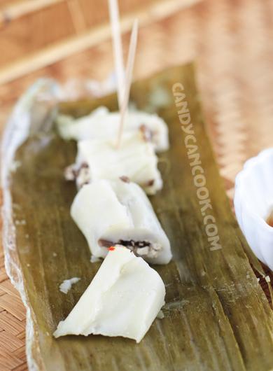 Bánh tẻ/ bánh răng bừa - Món quà quê hấp dẫn