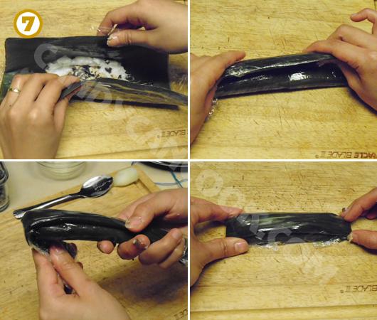 Cách gói và tạo hình bánh tẻ/ bánh răng bừa