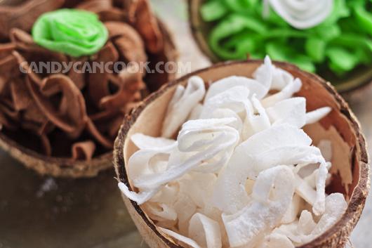 Hạnh phúc với mẻ mứt dừa thơm ngon