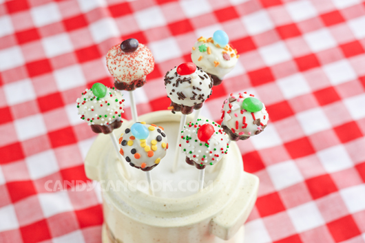 Cupcake cake pops xinh đẹp và quyến rũ :X