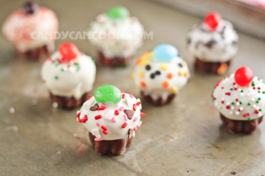 Ngọt ngào cupcakes nằm trong cupcakes ;)