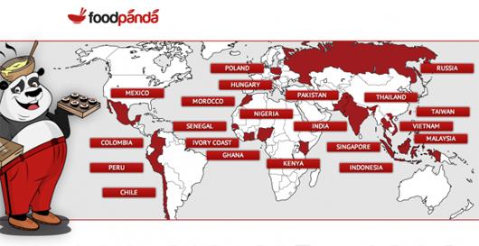 Foodpanda - dịch vụ đặt đồ ăn trực tuyến trên hơn 30 nước