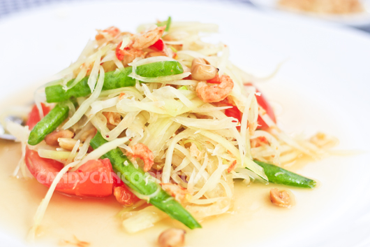 Ăn Som Tum Thai - nhớ cái nóng nực của Bangkok