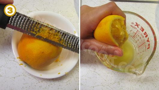 Chuẩn bị nước sốt cam