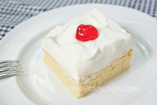 Tres Leches cake - Bánh ba lại sữa