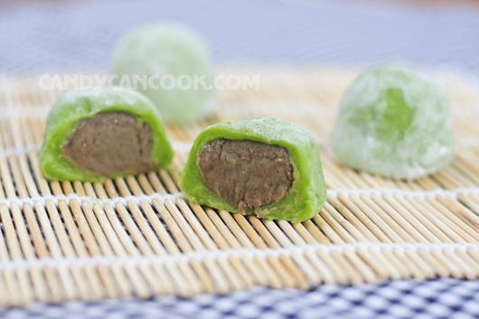 Tiết kiệm cơn thèm bánh Mochi trà xanh ;)