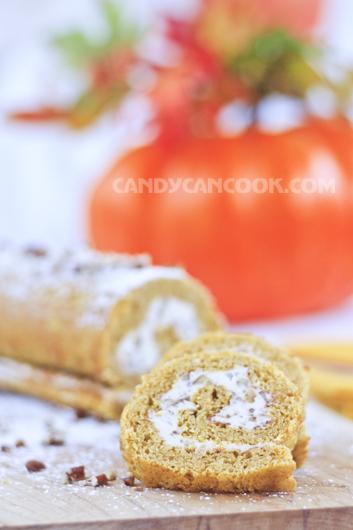 Bánh cuộn Bí đỏ cho một mùa lễ Tạ ơn yên bình :X
