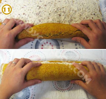 Cuộn bánh chặt theo chiều dài hoặc rộng