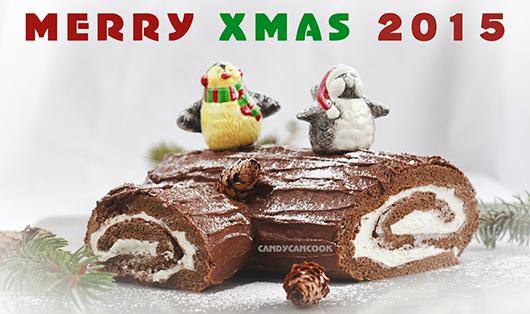 Giáng sinh ấm áp cùng Bánh Khúc gỗ Noel :)