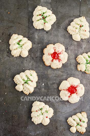 Cookies Spritz cho một mùa Giáng Sinh hạnh phúc