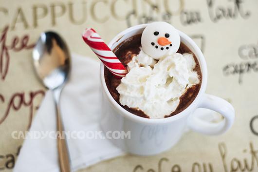 Ca cao nóng (Hot chocolate) xua tan lạnh giá