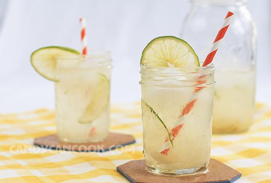 Giải khát mùa hè với nước chanh muối :X