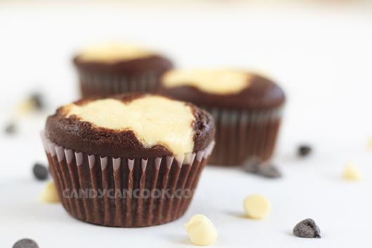 Black bottom cupcakes - Cupcakes sô-cô-la và cream cheese tình thân mến thân :X