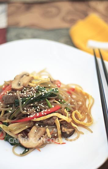 Japchea - Miến trộn Hàn Quốc ăn nóng hay nguội đều ngon :X