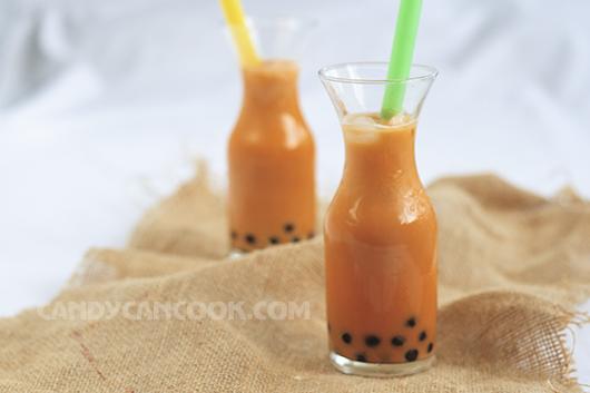 Trà sữa Thái thơm béo đặc trưng