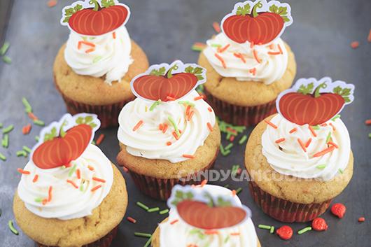 Vừa bí đỏ thật hấp dẫn - Pumpkin cupcakes