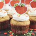 Cupcakes bí đỏ