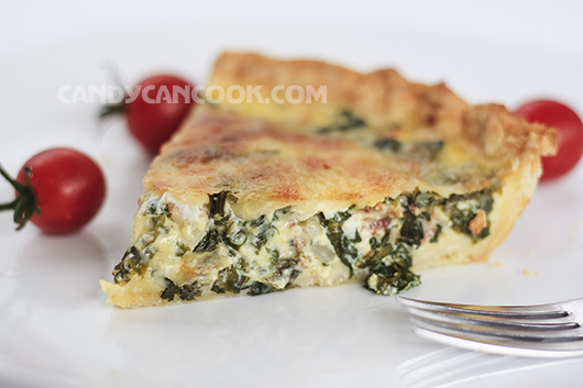 Béo, bổ, ngon và ngon - Bánh Kale quiche