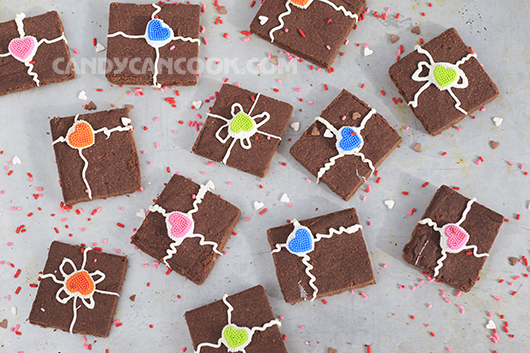 Bánh shortbread vị chocolate cho Valentine's thêm ngọt ngào
