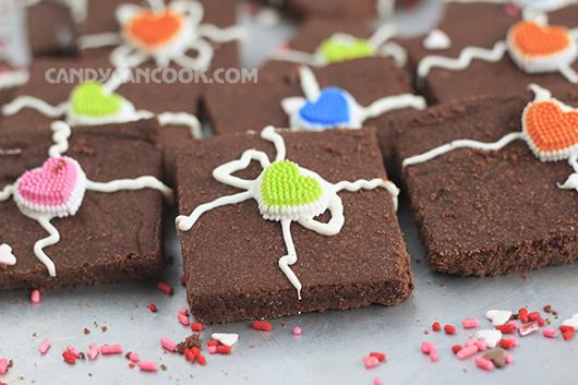 Hộp quà đáng yêu - Chocolate shortbread cho Valentine's ngọt ngào
