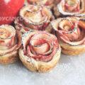Bánh Táo hoa hồng