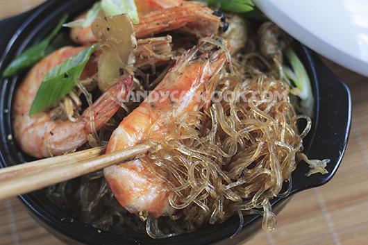 Miến Hải Sản Kiểu Thai Goong Ob Woonsen Candy Can Cook